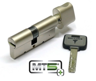 Цилиндр Mul-T-Lock MT5+ 76мм.(38х38) ключ-повортник