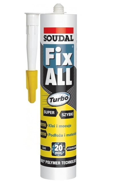 Клей Soudal Fix All Turbo