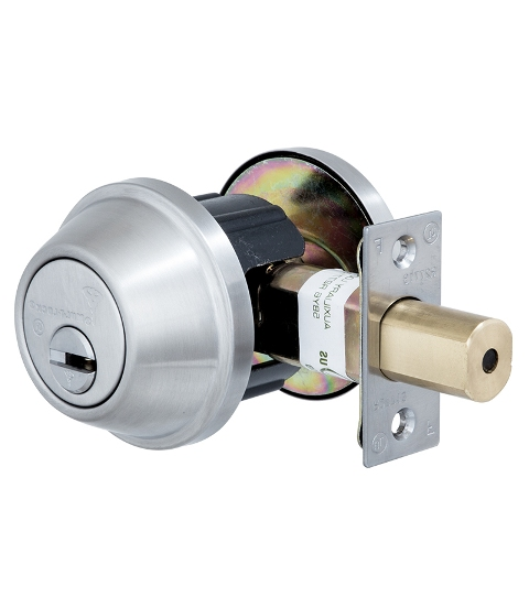 Замок MUL-T-LOCK DEAD BOLT CRONUS BRUSH ST.STEEL UNIV BS60 / 70мм INTERACTIVE +