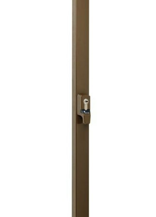 Замок накладной MUL-T-LOCK DIN EMA BROWN UNIV BS1100мм length 2500mm w/o S