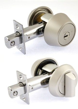 Замок MUL-T-LOCK DEAD BOLT HERCULAR SATIN NICKEL UNIV BS60/70мм MT5+