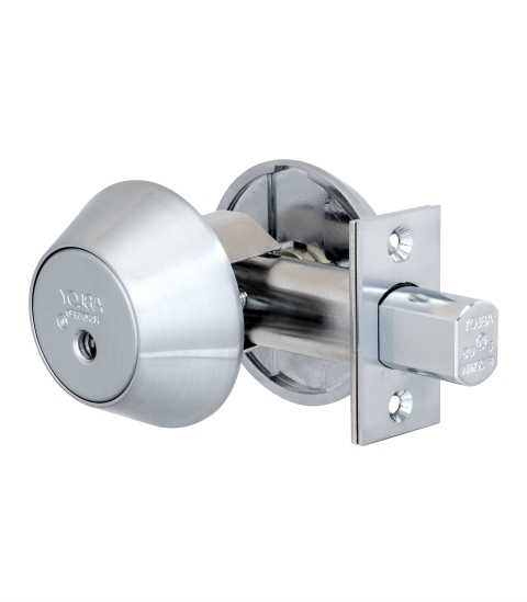 Замок врезной ABLOY DEAD BOLT ME154 SATIN CHROME UNIV BS60/70мм PROTEC2