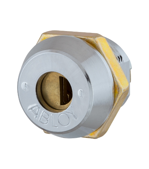 Замок для оборудования ABLOY CL200 22мм 18,5мм 9 DISCS CR SENTRY 2KEY
