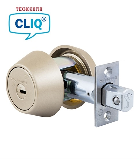 Замок MUL-T-LOCK DEAD BOLT BS60 / 70мм HERCULAR SATIN NICKEL INTERAKTIVE+
