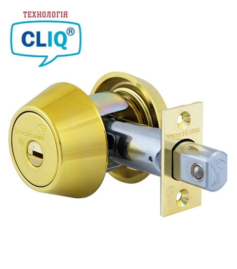 Замок MUL-T-LOCK DEAD BOLT BS60 / 70мм HERCULAR SHINY BRASS UNIV MT5+
